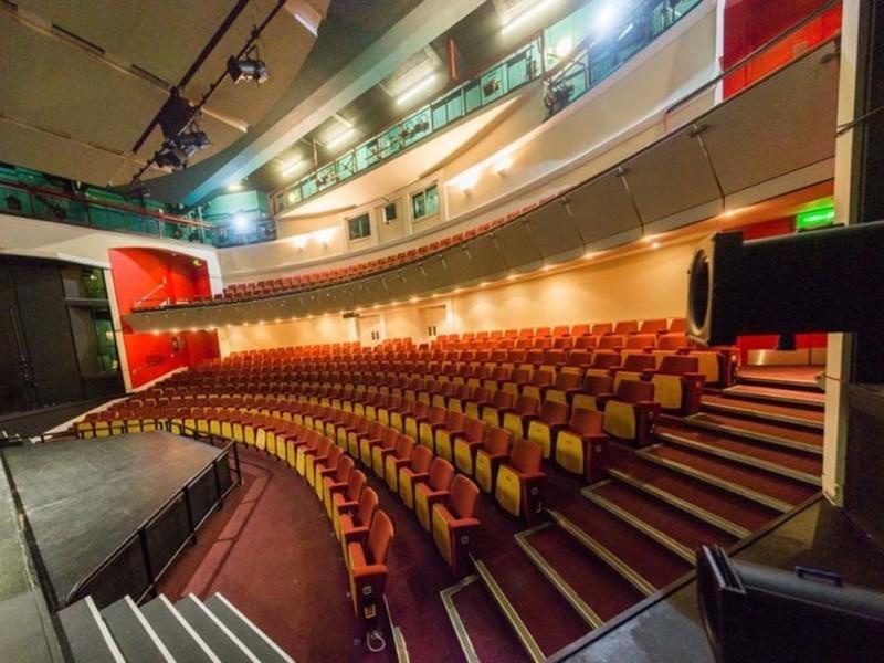 Ryan theatre at Harrow School