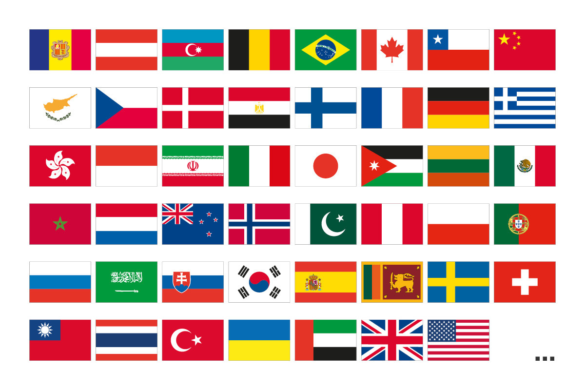 student-flags